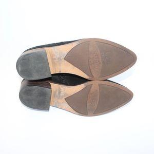 Franco Sarto Shoes - Franco Sarto Black Suede A-Paivley Booties